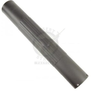 """12"""" Free Floating Smooth Tube AR15 Handguard w/Knurled grooves"""