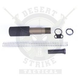 AR-15 PISTOL BUFFER TUBE KIT BRONZE