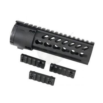 AR15 KeyMod 7 inch Free Float System Slim Profile