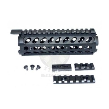 GUNTEC USA Two Piece Handguard w/Removable Sectional Rails