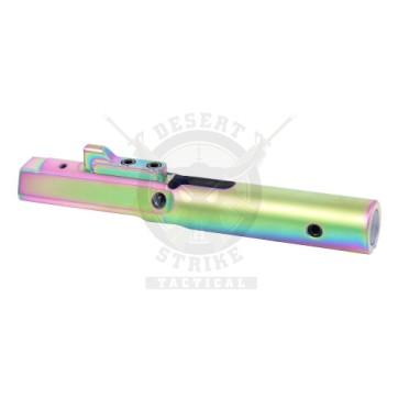 AR 9mm NITRIDE BOLT CARRIER MIL-SPEC RAINBOW PVD COATED